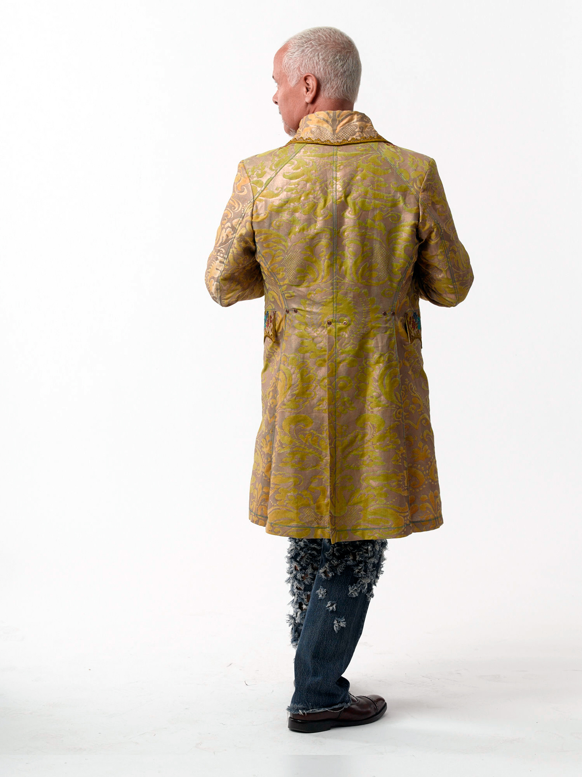 Finished Fortuny frock coat by Kenneth D. King