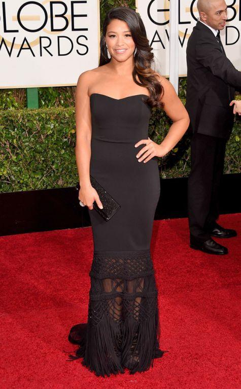 Gina Rodriguez, Bagley Mischka, Golden Globes