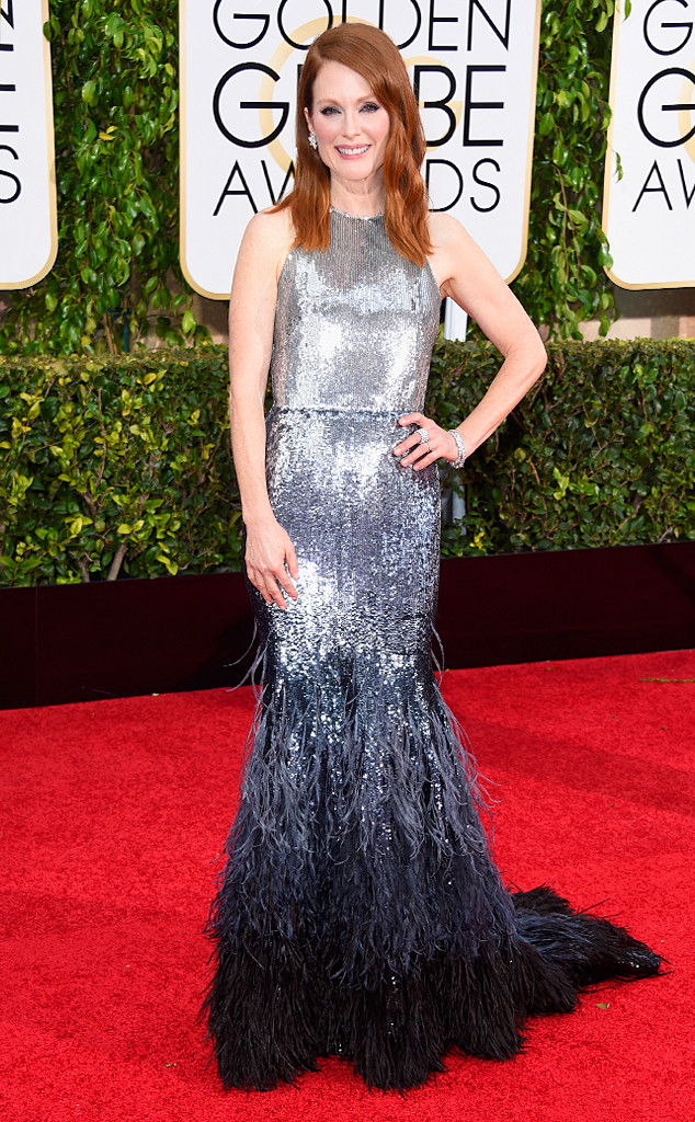 Julianne Moor at Golden Globes