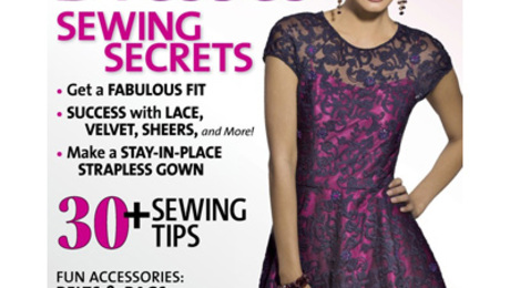 Sewstylish S Party Dresses Issue Is Here Threads