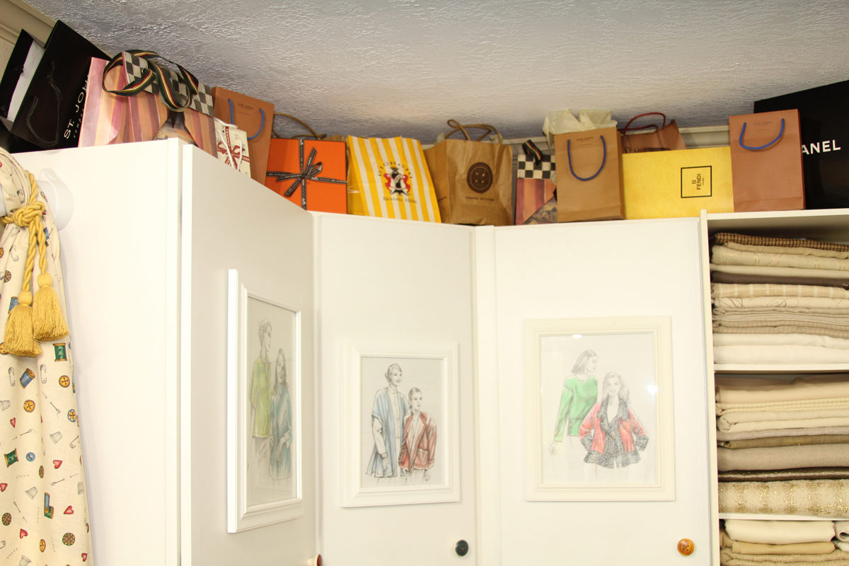 More Images from Louise Cutting\'s Sewing Room - Threads