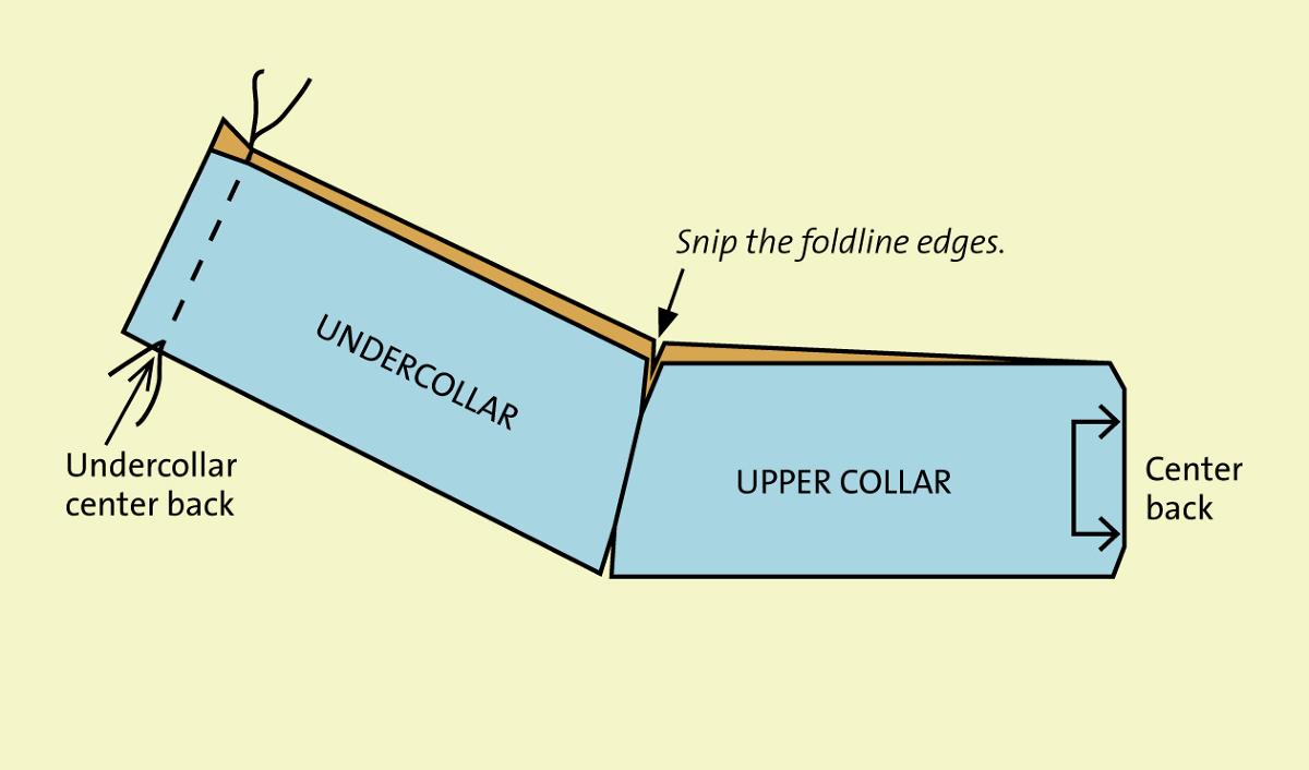 Fold the Collar Piece