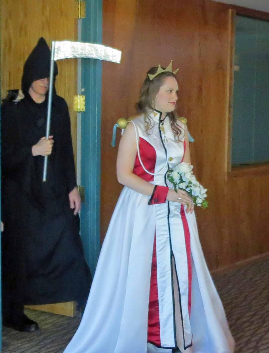 Anime Themed Halloween Wedding Threads