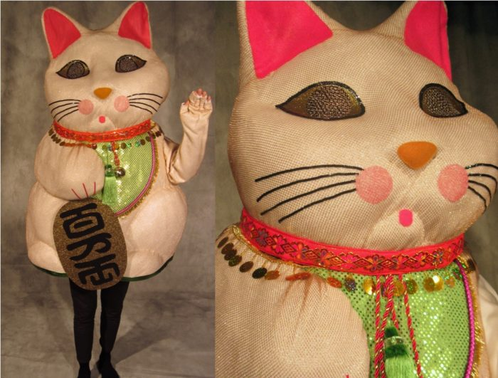 Add to List : lucky cat costume  - Germanpascual.Com