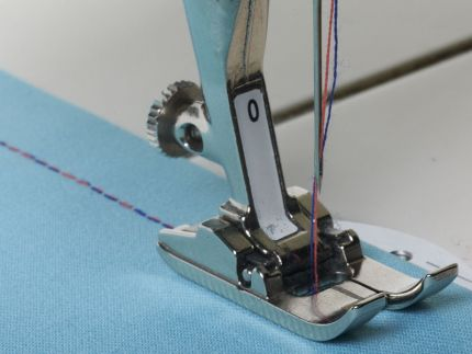 Tips For Better Topstitching Threads Delectable Threading A Sewing Machine Needle