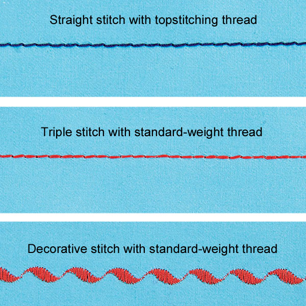 Tips For Better Topstitching Threads
