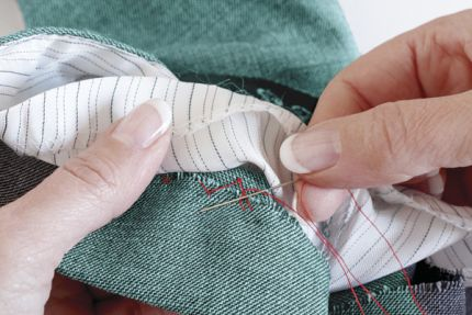 how to cut a buttonhole by hand