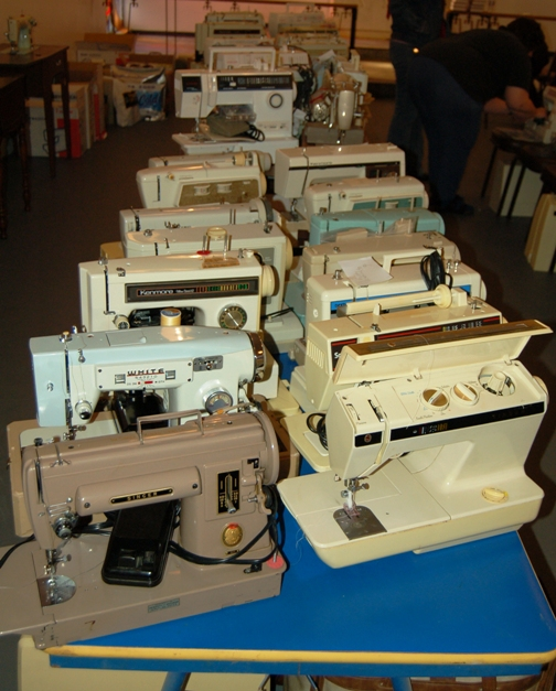 New Life For Used Sewing Machines Threads Unique New Life Sewing Machines