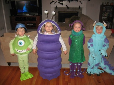 Homemade Monsteru0027s Inc Costumes & Monsteru0027s Inc Halloween Costumes - Threads