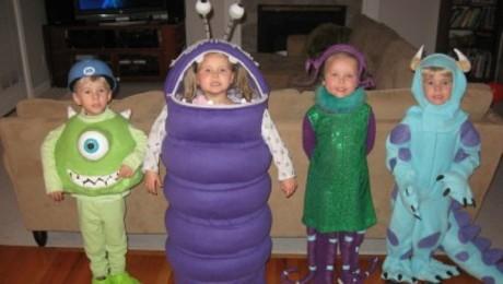 Monster S Inc Halloween Costumes Threads