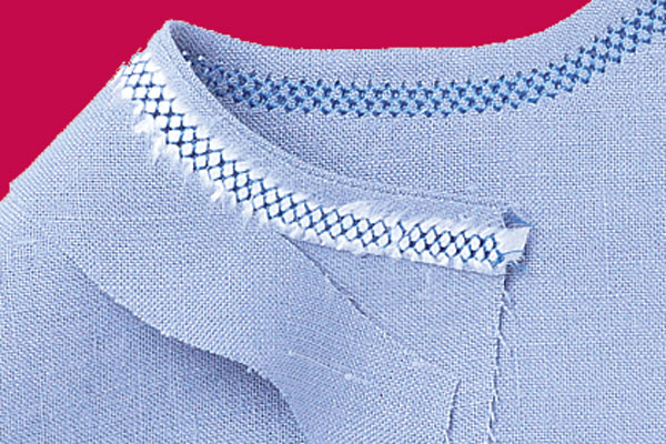 How To Hemstitch By Machine Threads Extraordinary How To Hemstitch On A Sewing Machine