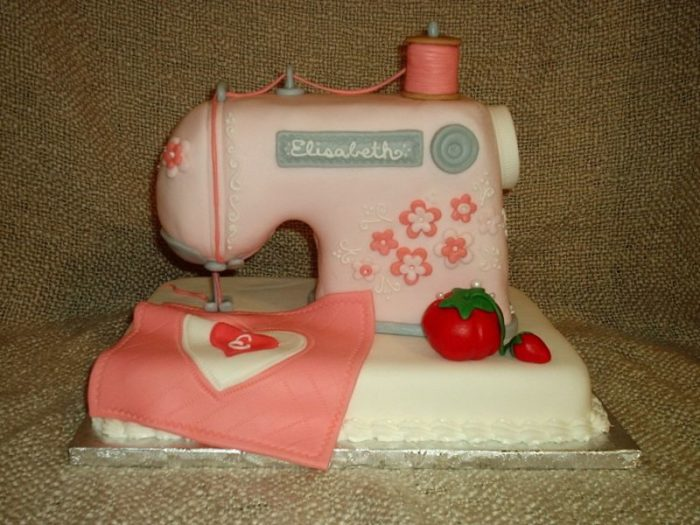 Edible Sewing Machines Threads