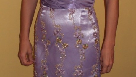 60s Christmas Ball Gown Threads