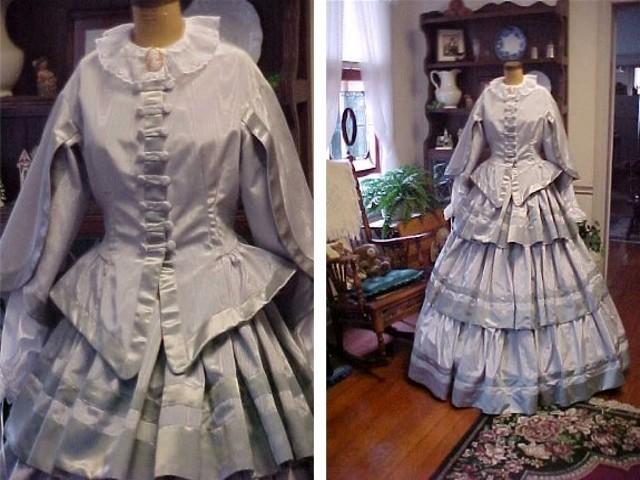 Civil War Era Ball Gown - Threads