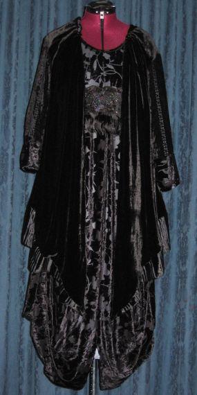 Spiral Dress—In Contrast