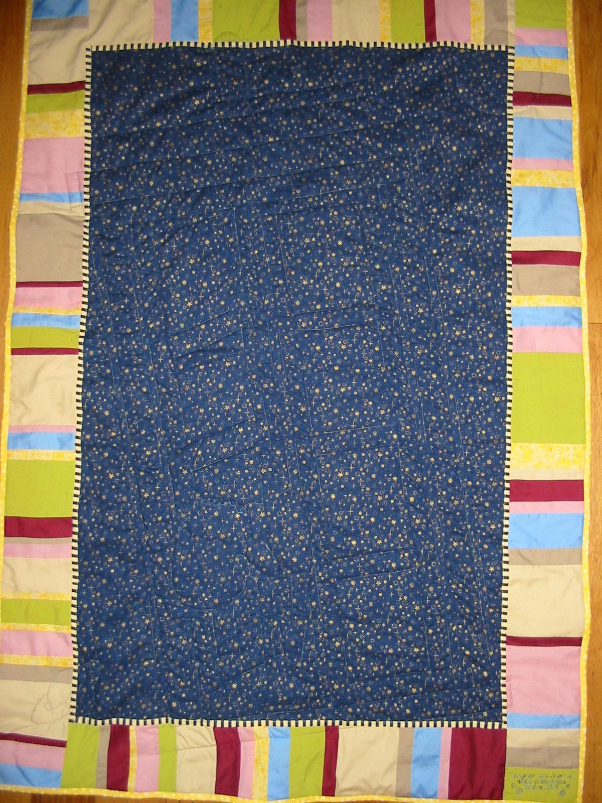 Tardis Quilt Threads