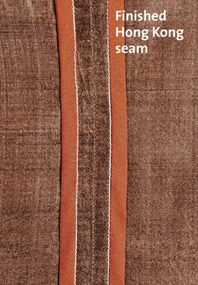seam finishes for silks threads