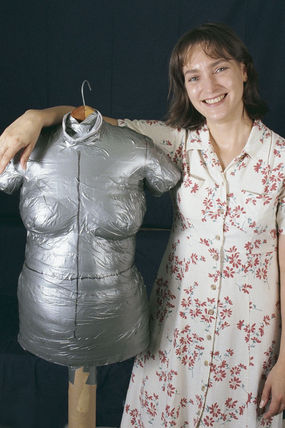 Duct-Tape Dress Form #2