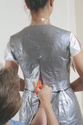 Cut the back