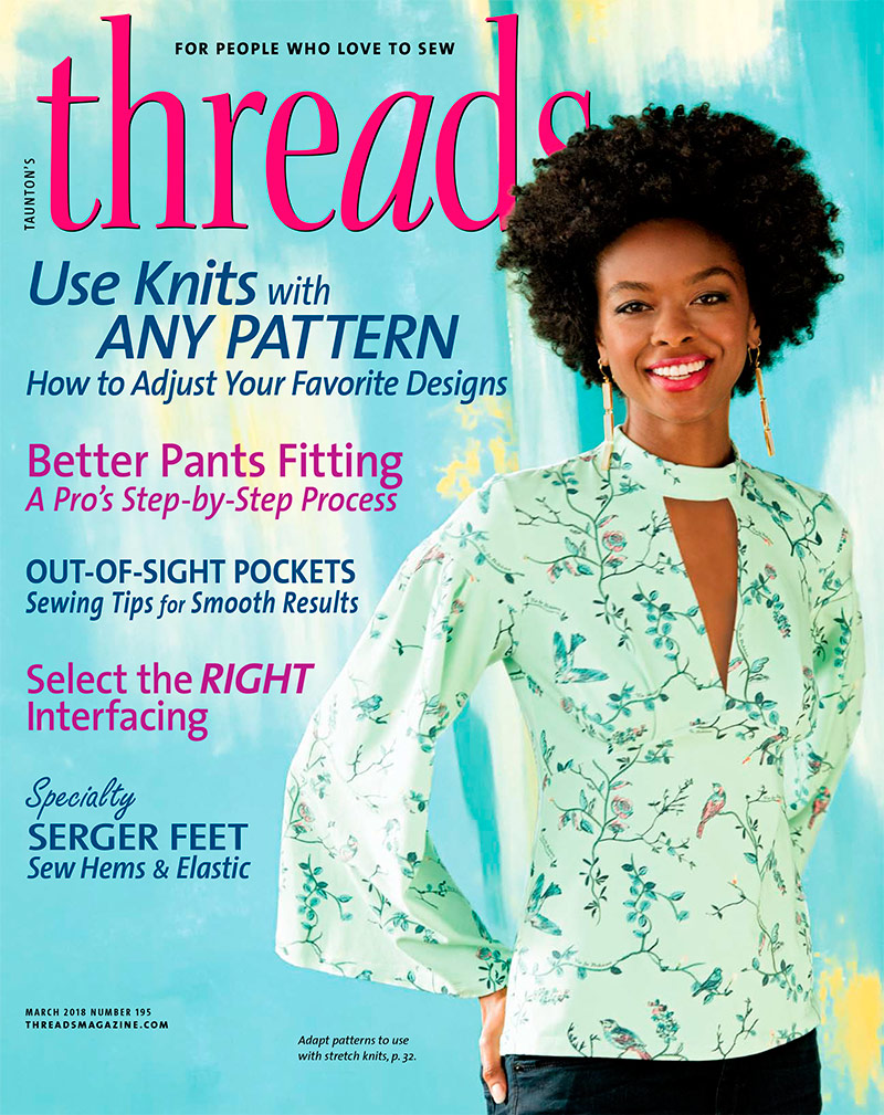 Threads - Threads is the premier magazine for sewing enthusiasts ...