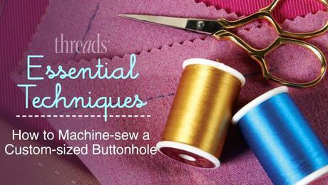 Custom Sized Buttonhole