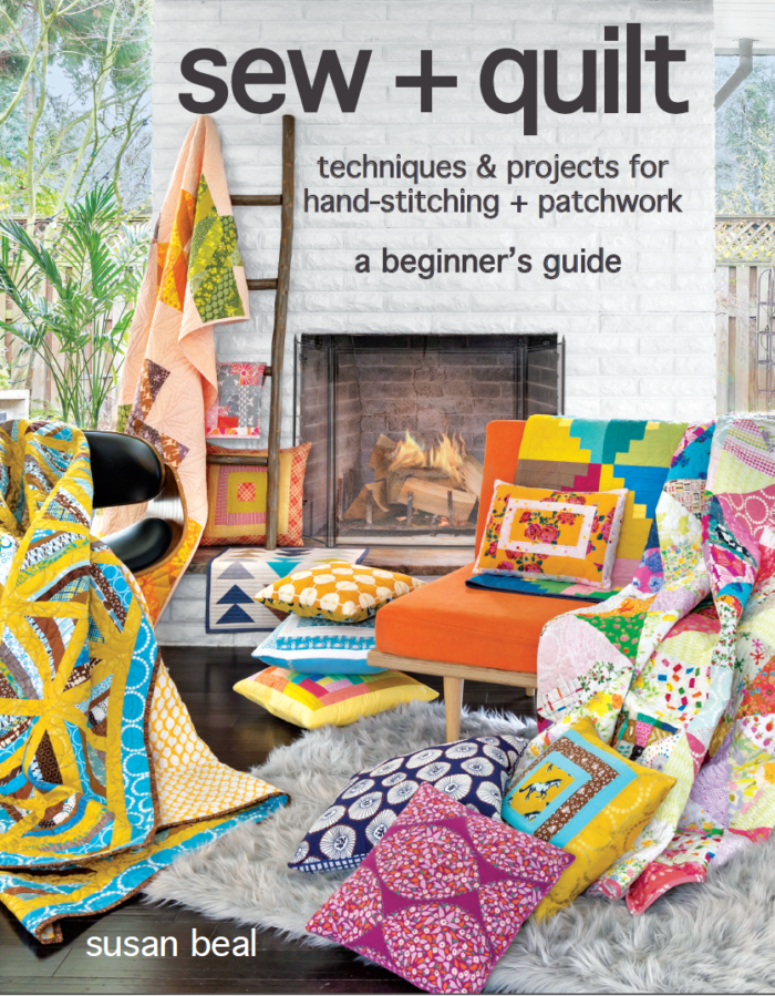 sew + quilt cover book by Susan Beal