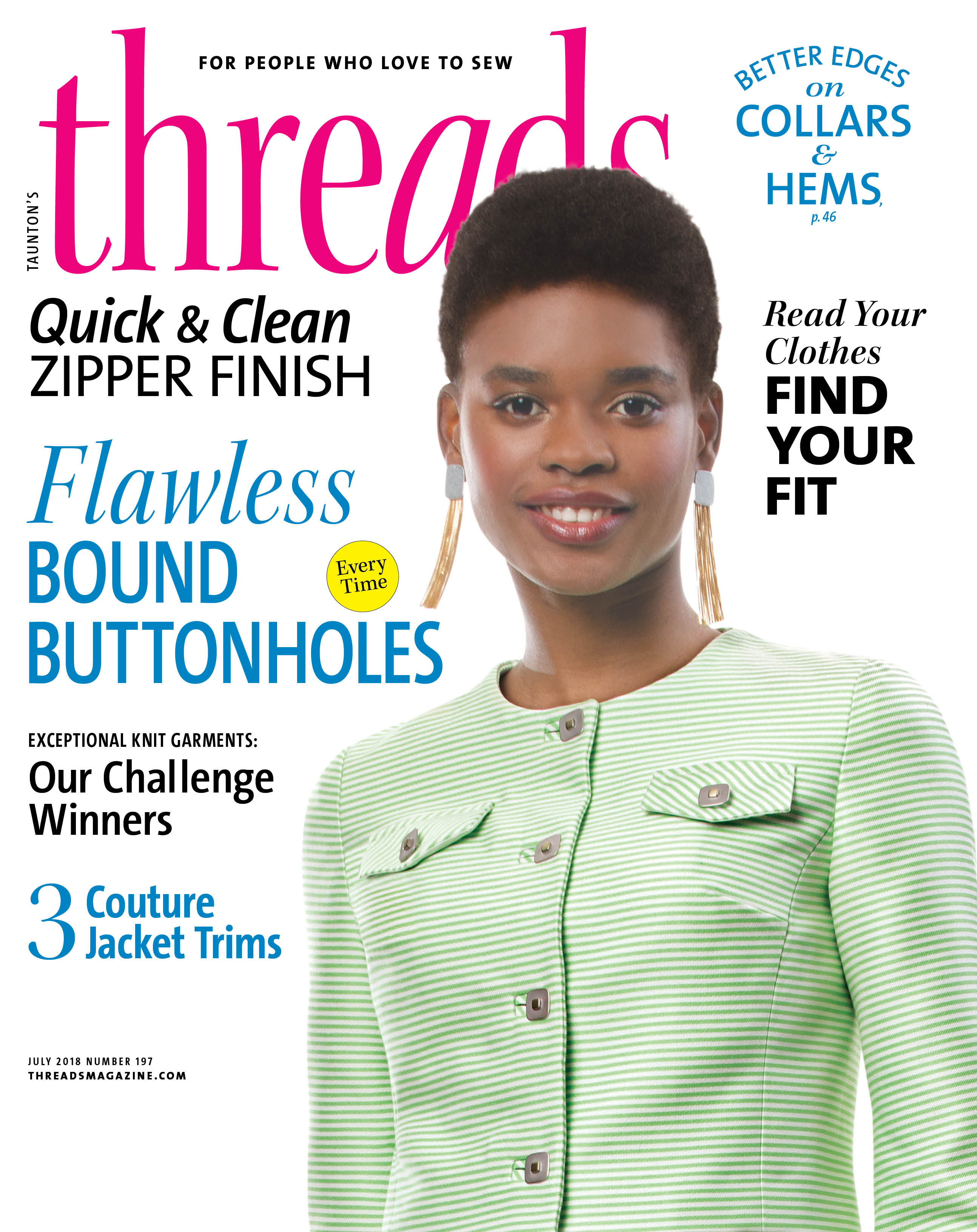Threads Magazine - Threads #197, June/July 2018