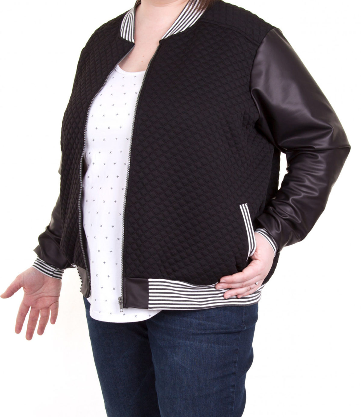 Selected Sewing Patterns for the Classic Bomber Jacket