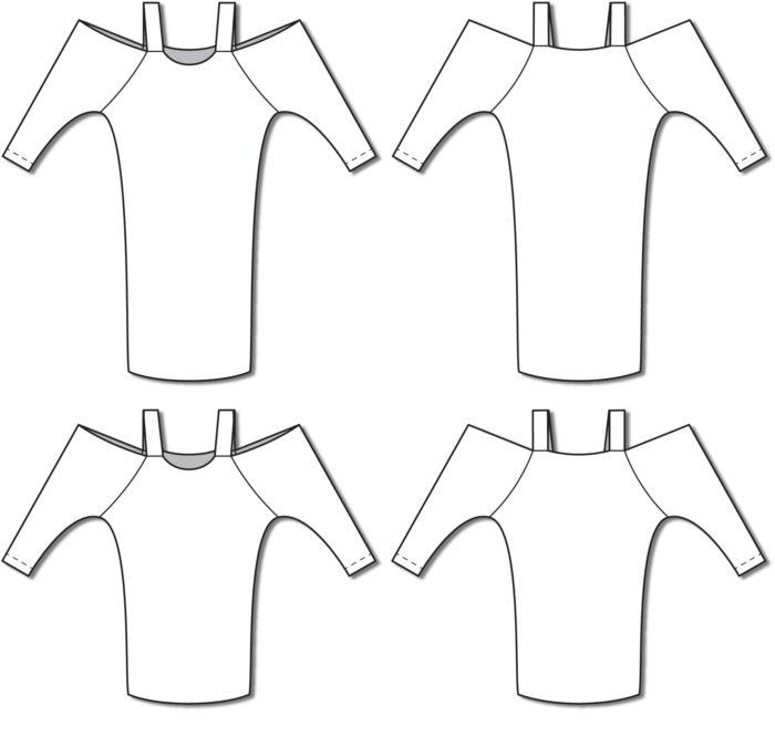 BurdaStyle Cold Shoulder Dress