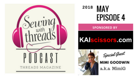 Mimi G on Threads magazine podcast