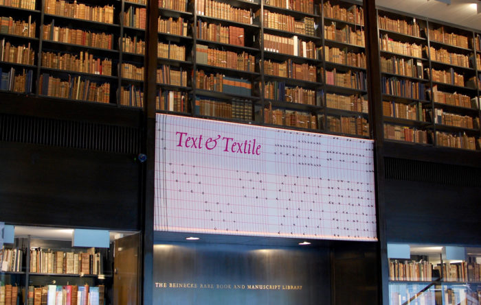 Text & Textile exhibition