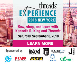 Threads Experience event in New York City September 8 2018