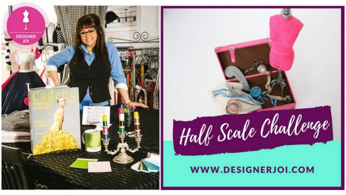 Designer Joi's Half-Scale Challenge 2018 - Threads