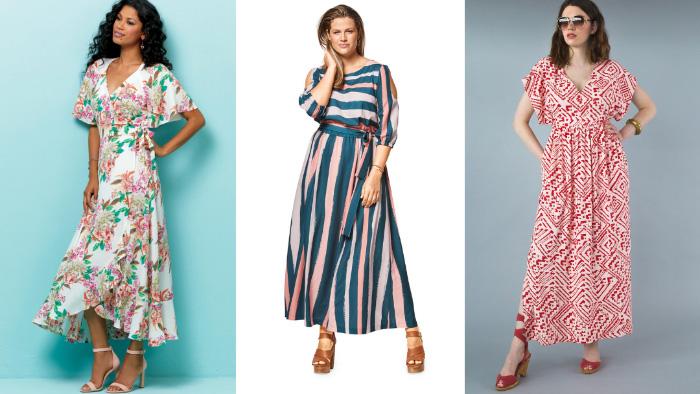 Summer Maxi Dress Patterns