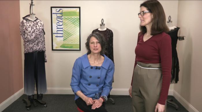d7e1872bb311 In this video series, fit expert Sarah Veblen shares her method for fitting  a slacks-style test garment, ...