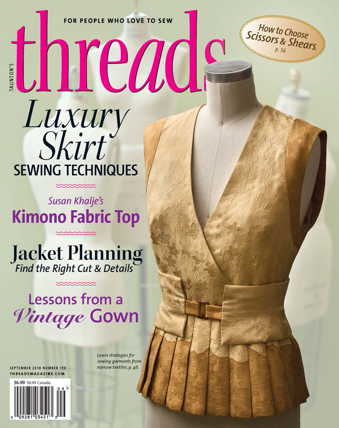 Threads #198 front cover