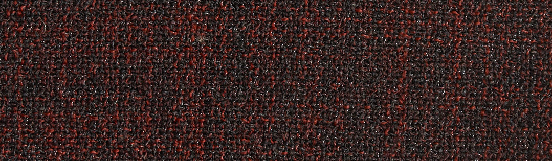 Brighter red and black wool