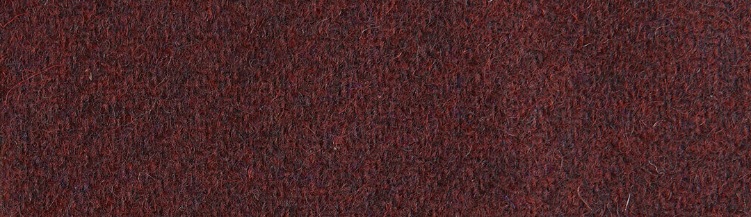 Red/black Harris tweed wool