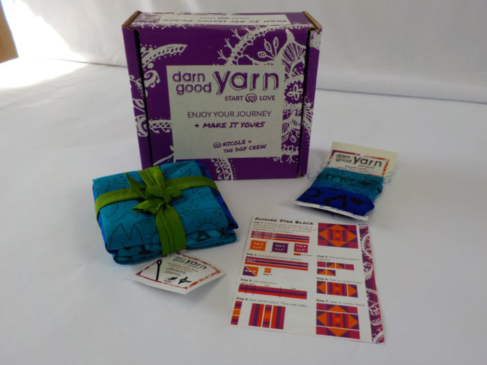 Darn Good Yarn Fabric of the Month kit