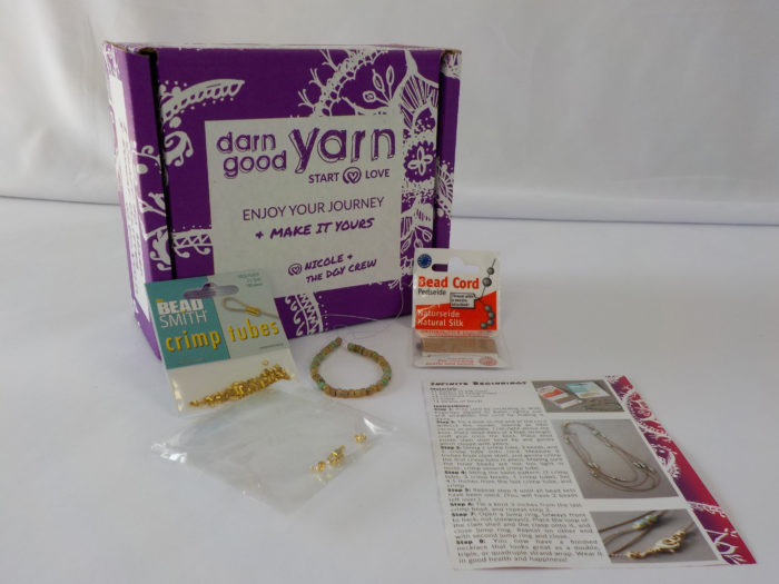 Darn Good Yarns Infinite Beginnings kit