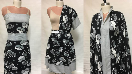 No Rules Draping, Part 2: Print Placement - Threads