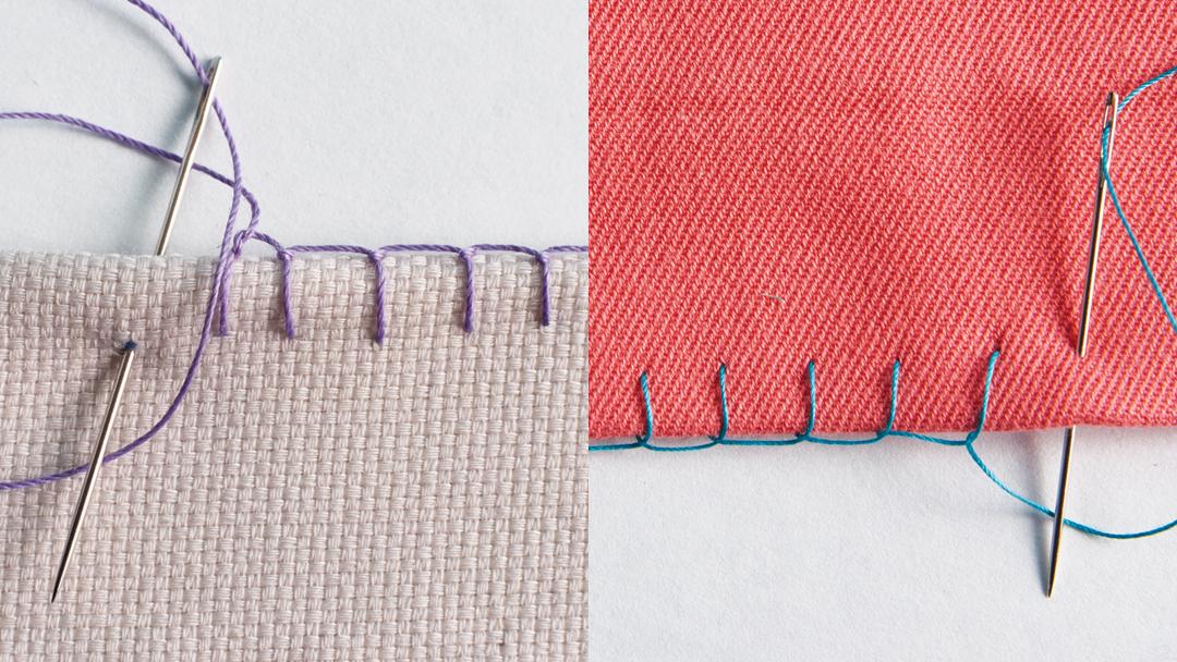 Q A Blanket Stitch Vs Buttonhole Stitch Threads