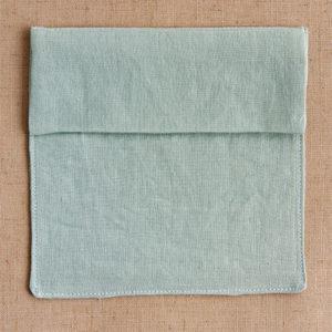 foldover flap pocket