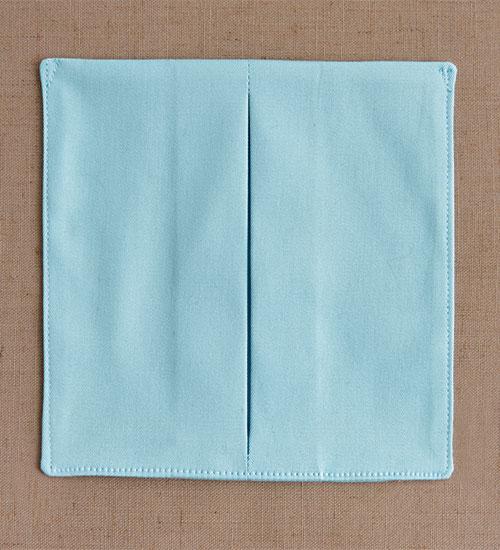 pleated pocket