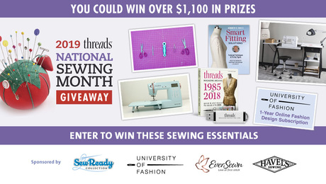 Threads - Threads is the premier magazine for sewing