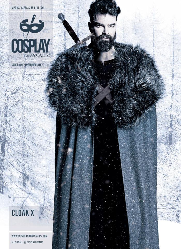 McCall's Cloak X costume