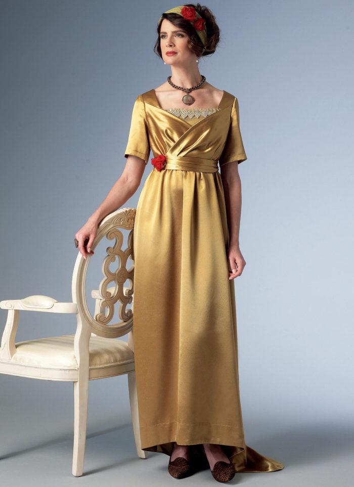 Butterick 6190 dress costume