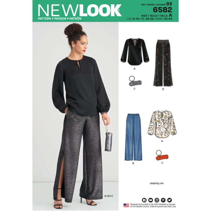NewLook 6582 three-piece ensemble