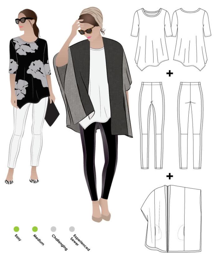 Style Arc ensemble pattern
