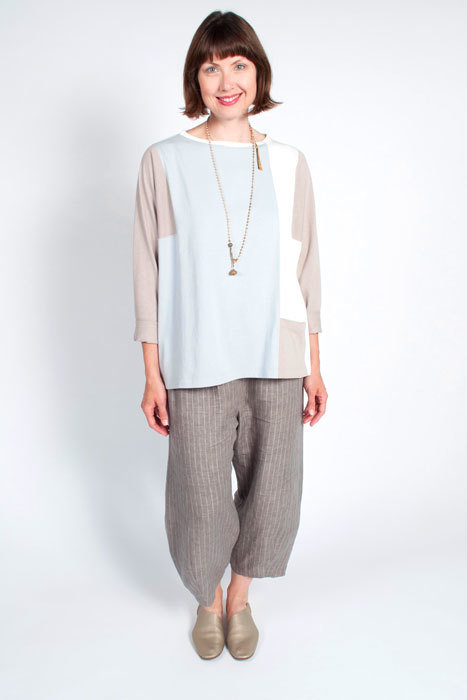 The Sewing Workshop top and pants ensemble